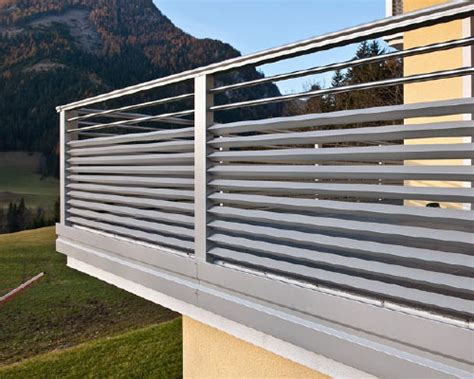 recinzioni per terrazzi balconi recinzioni leeb