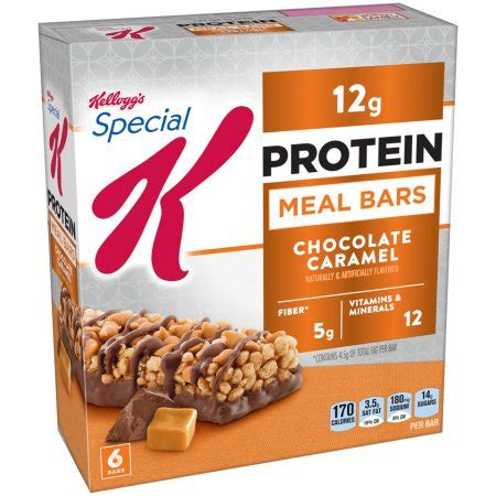 2 protein bars a day kellogg s special k chocolate caramel protein meal bars 6