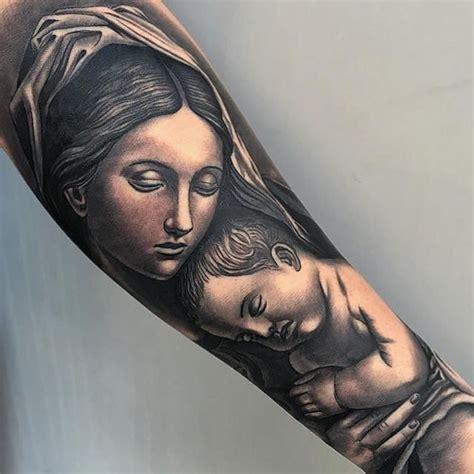 tattoo sagrado coração de jesus e maria 25 melhores ideias de tatuagens virgem maria somente no