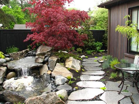 pond and waterfall lake stevens wa photo gallery landscaping network