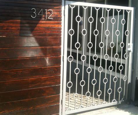 modern house steel gate modern metal gate pictures popsugar home