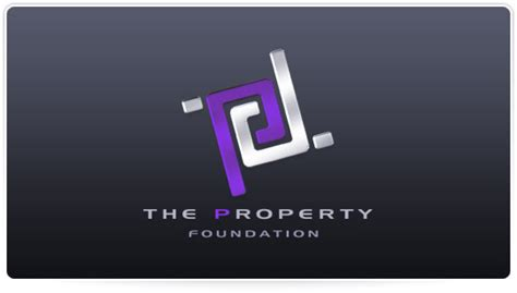 design logo modern modern logo design the property foundation