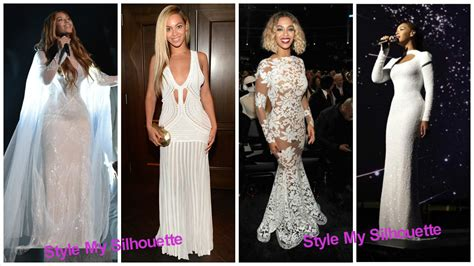 8 times beyonce inspired white wedding dresses