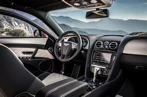 bentley flying spur interior 2016 2017 bentley flying spur w12 s is 202 mph luxury