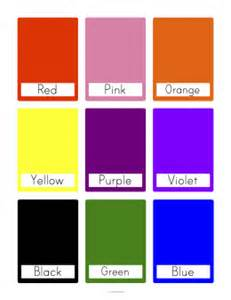 color flash color flash cards pictures to pin on pinsdaddy