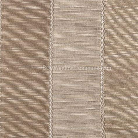 Taupe Color Curtains Tandora Stripe Drapery Curtain Panel In Linen Taupe Color Alternating Tones Of Striated Color