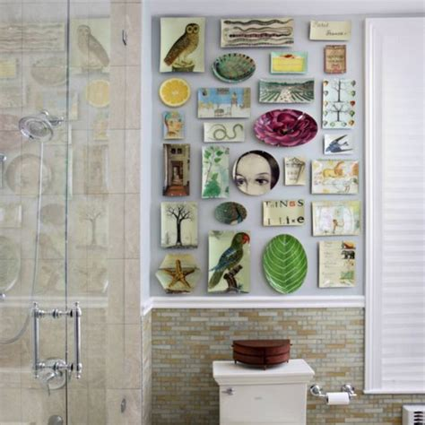 wall decorating ideas for bathrooms 15 unique bathroom wall decor ideas ultimate home ideas