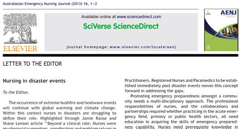 Response Letter Scientific Journal May 2013 Ranse