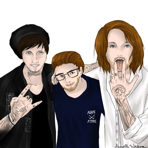 chris fronzak matty mullins and danny worsnop by