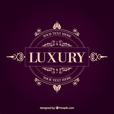 logo design luxury luxury logo template free vectors ui download