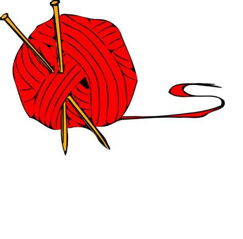 clipart yarn red ball yarn clip art at clker vector clip art