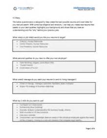 professional resume writing process in person review