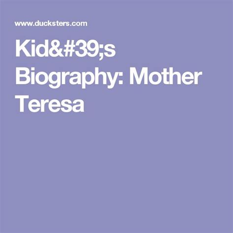 biography for mother teresa 118 best images about kids women s history on pinterest