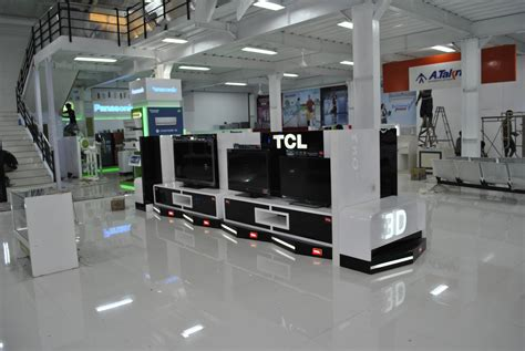 layout toko handphone interior for electronic store displays interior design jasa