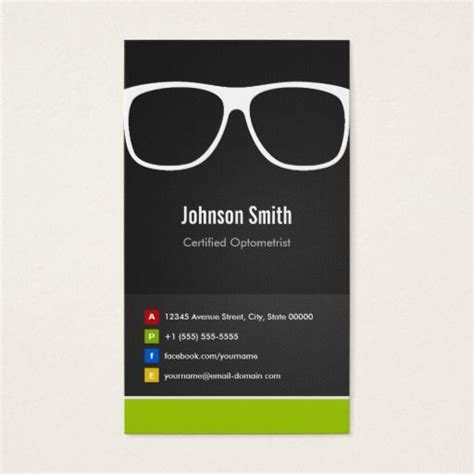 innovative business cards templates 291 best images about optometrist business cards on