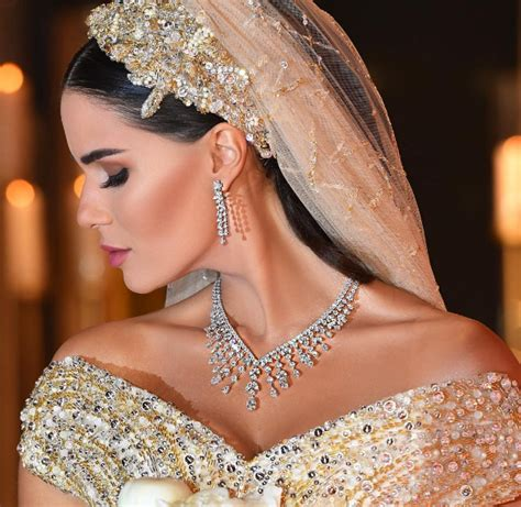 dana wolley zayat beautiful wedding veils arabia weddings