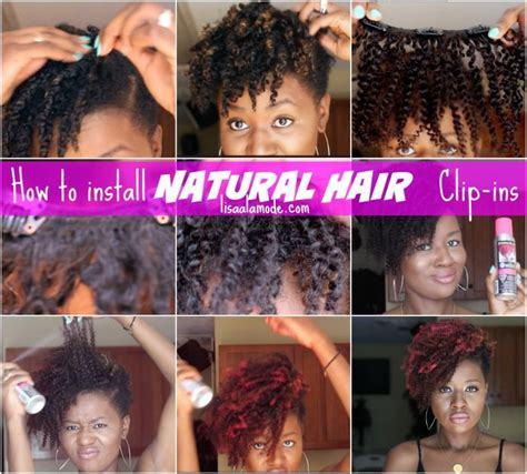 add weave to tapered hair how to install natural hair clip ins on a short tapered