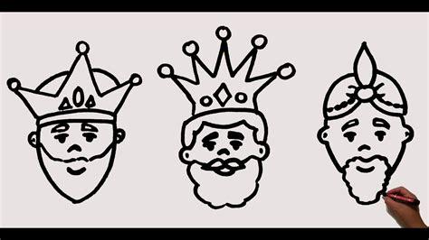imagenes de reyes magos faciles como dibujar a los reyes magos how to draw the wise men