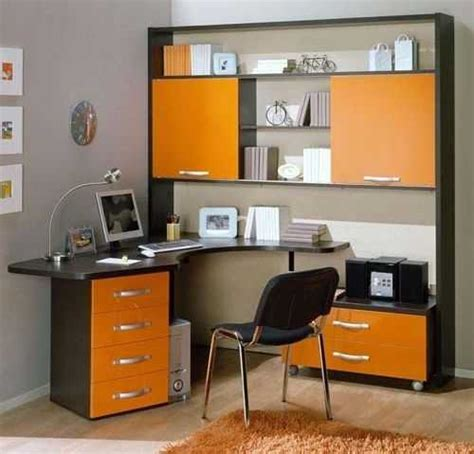 Home Office Design And Color 30 Office Design Ideas Bringing Optimism With Orange Color