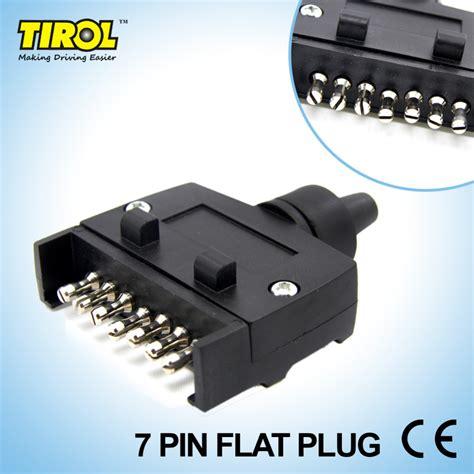 6 pin trailer light plug tirol t21228b new 7 pin flat trailer plug light connector