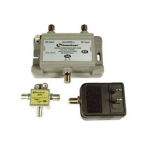 cable tv antenna signal booster lifier 15db gain return line power outdoor ebay