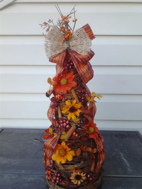 fall tree decorations fall decor fall grapevine tree fall tree with lights