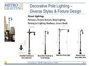 Car Park Lighting Guide Led Retrofitting Of Decorative Pole Lighting Guide July 2013