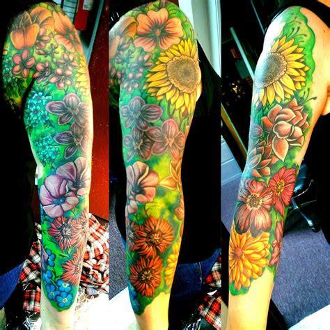 different flower tattoos 23 flower sleeve designs ideas design trends