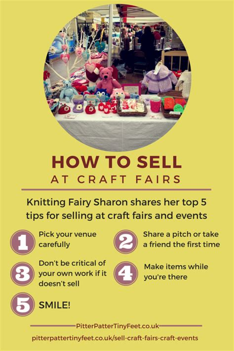 crafts to sell at craft fairs how to sell at craft fairs craft events pitter patter