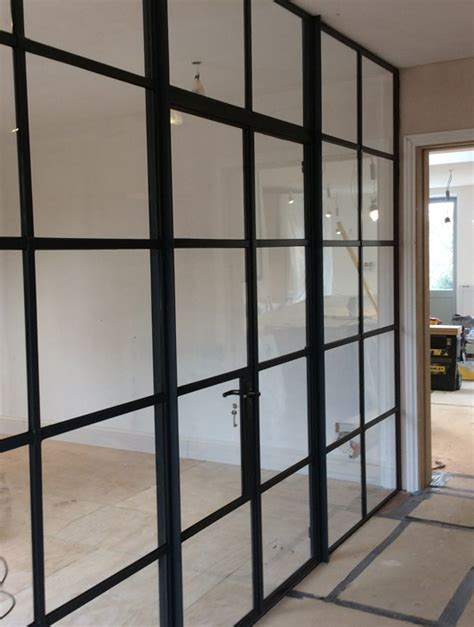 window pation door screen crittall screens