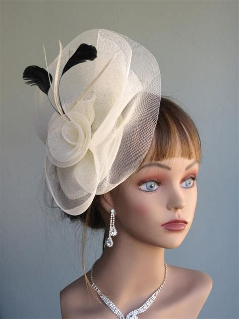 Wedding Hair Accessories Derby by Ivory Wedding Kentucky Derby Hat Fascinator