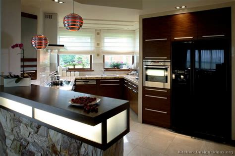 dark kitchens designs pictures of kitchens modern dark wood kitchens