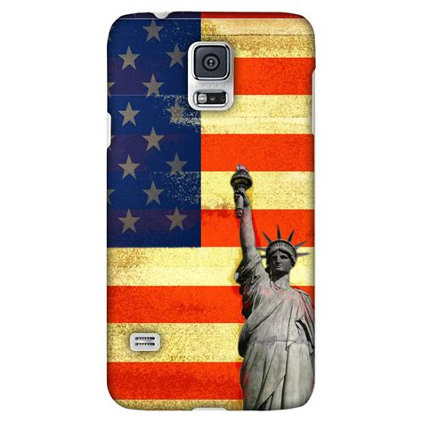 Us Flag Samsung Galaxy S5 amzer 174 designer rustic liberty us flag for samsung