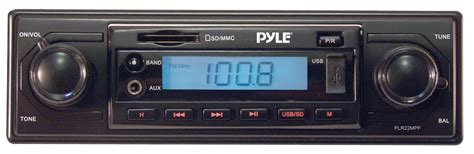 Two Knob Car Stereo by Pyle Plr22mpf On The Road Headunits Stereo Receivers