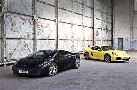 Lamborghini Porsche New Versus Used Porsche Cayman S Or Lamborghini Gallardo