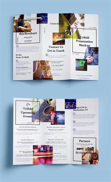 brochure psd templates 3 fold brochure template psd best sles templates