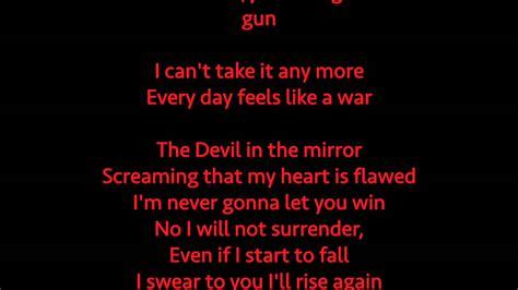 black mirror love song devil in the mirror by black veil brides full song lyrics