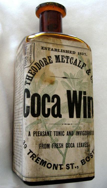 Pembertons Wine Coca Coca Cola Do You Drink Coke by The Poison Diaries