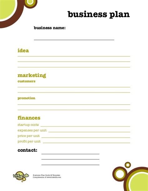 simple business plan template simple business plan template for world of label