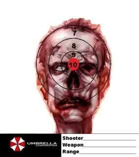 printable headshot targets free zombie targets ar15 com