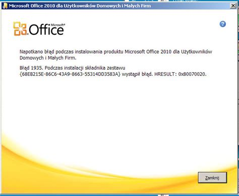 Microsoft Office Dl Office 2010 Problem Z Xllex Dll Elektroda Pl