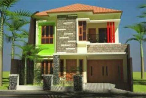 model rumah minimalis  lantai  menginspirasi