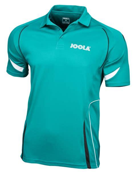 joola table tennis clothing joola milan table tennis shirt