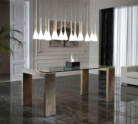tavolo in pietra tavolo millerighe in pietra wood top 200 cm duzzle