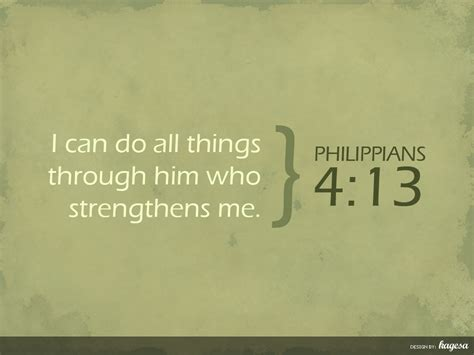 philippians 413 i can do all things through christ who philippians 4 13 kagesa