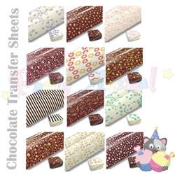 Where To Buy Edible Cocoa Butter Chocolate Transfer Sheet Printed Edible Design To Decorate Cake Fondant Amp Choc Ebay