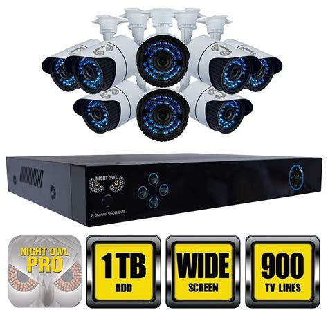 owl monitoring systems x100 series 8 channel