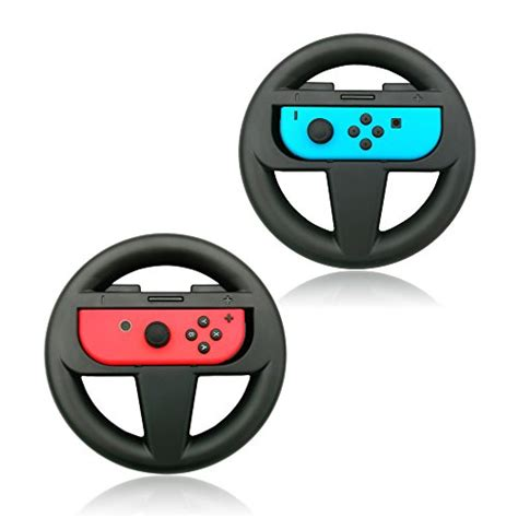 New Nintendo Switch Con Wheel Set Of 2 Aif612 1 nintendo con wheel set of 2 nintendo switch reviews
