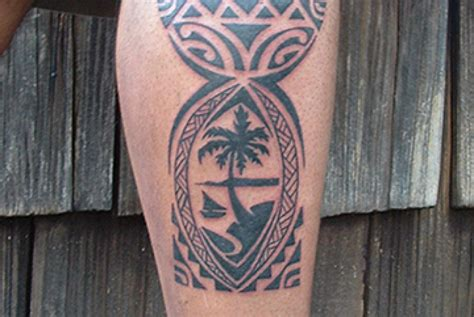 chamorro tattoos guam seal symbol