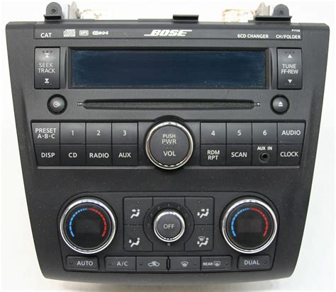 repair voice data communications 2009 nissan versa electronic toll collection nissan altima 2007 2009 factory stereo bose premium sound 6 disc cd player oem radio r 3081